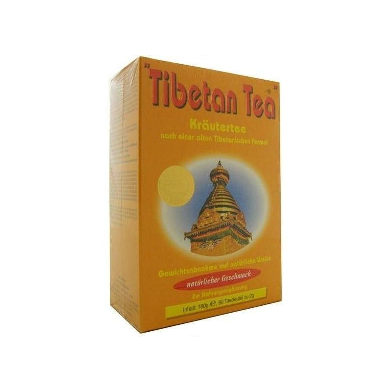 Tibetan Tea, Sabor Natural, 90 filtros