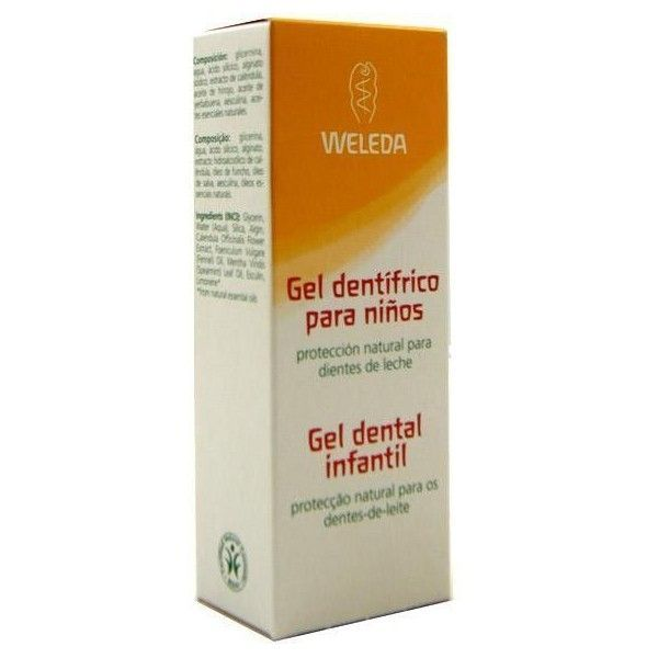 Gel Dentífrico Infantil, 50 ml - Weleda