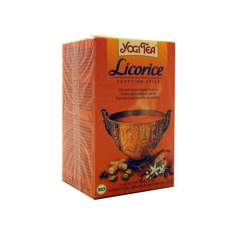Licorice (regaliz) BIO, 17 bolsitas - Yogi Tea