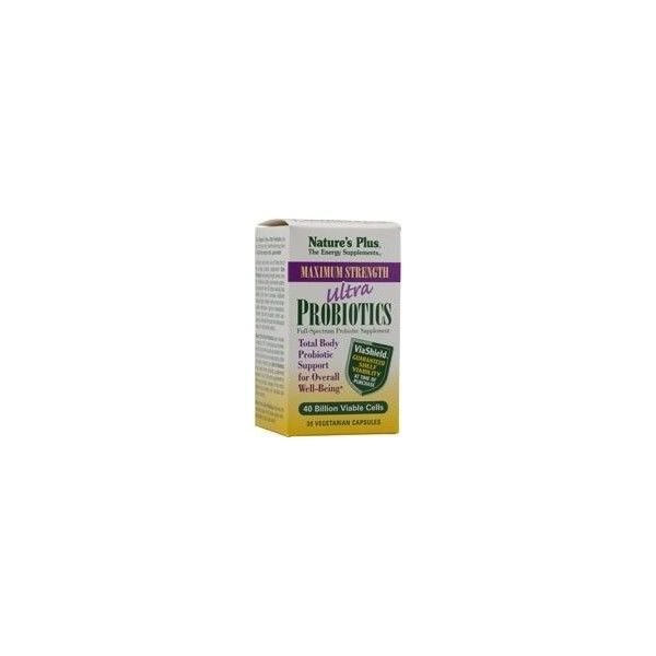 Ultra Probiotics, 30 cápsulas - Natures Plus