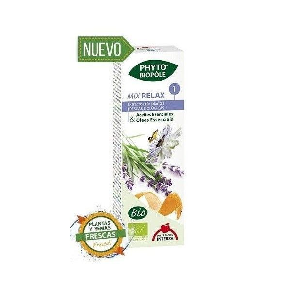 Phyto-Biopôle Mix Relax 1 BIO, 50 ml - Intersa