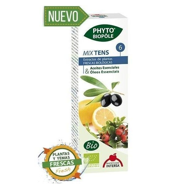 Phyto-Biopôle 6 Mix Tens BIO, 50 ml - Intersa