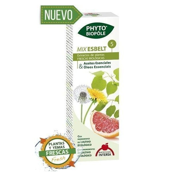 Phyto-Biopôle 5 Mix Esbelt, 50 ml - Intersa