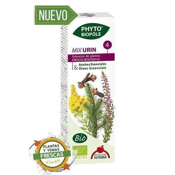Phyto-Biopôle 4 Mix Urin BIO, 50 ml - Intersa