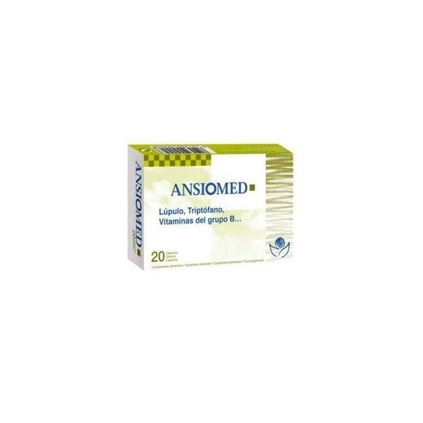 Ansiomed, 40 cápsulas - Bioserum